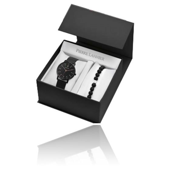 Coffret Montre Cityline 384A438 + Bracelet Pierre Lannier Ocarat