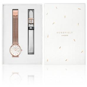 Coffret Montre Premium Gloss Métallique Or rose SRSHM-X219