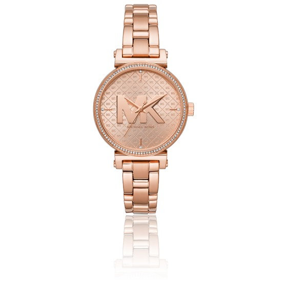 Montre Sofie ton Or Rose MK4335