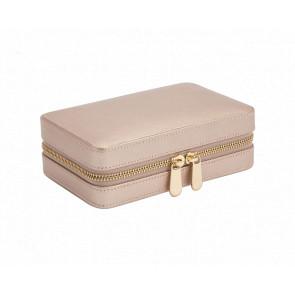 Boîte à Bijoux Voyage Zip Cuir Rose Gold Palermo