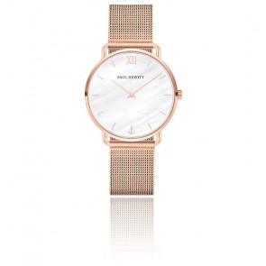 Montre Miss Ocean Pearl or rose PH-M-R-P-4S