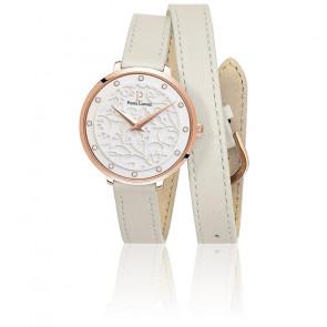 Montre Femme Bracelet Cuir Blanc 043K900