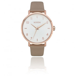 Montre Arrow Leather Rose Gold/Gray A1091-2239-00