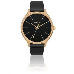 Montre Clique Leather Gold / Black A1250-513
