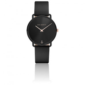 Montre Miss Ocean Black Sunray cuir PH-M-B-BS-32S