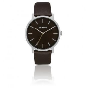 Montre Porter Leather Dark Cedar/Dark A1058-2986-00