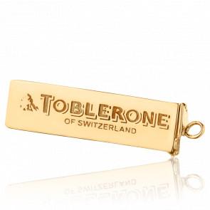 Pendentif Chocolat Suisse Plaqué Or Jaune 14K
