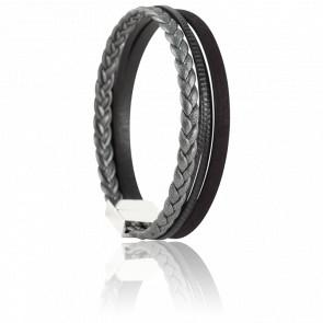 Bracelet Martin Noir & Poivre