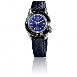 Montre Belza Ocean Automatique bracelet technique bleu