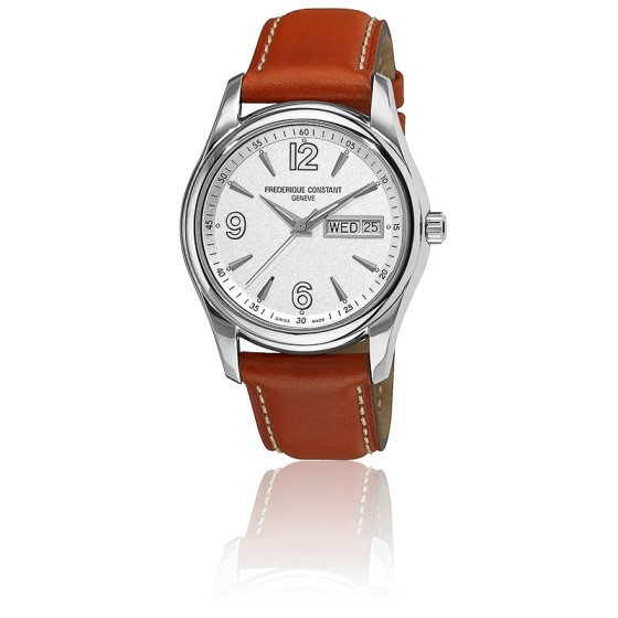 Montre Bracelet Cuir Orange FC-242S4B26