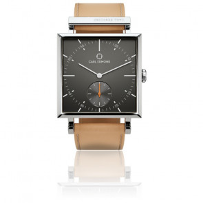 Montre Granit Gunmetal Beige 29 mm