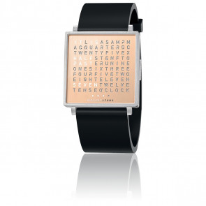 Montre Qlocktwo W35 Copper