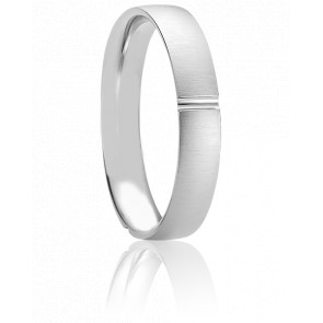 Alliance Volos or blanc 18k