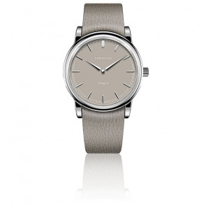 Heritage 36 Steel / Taupe Dial