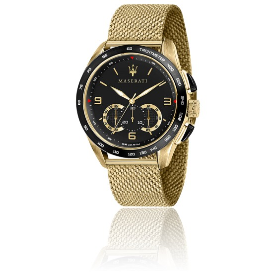 Montre Traguardo Chronographe doré R8873612010