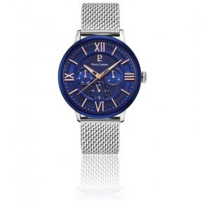 Montre Beaucour bleu acier milanais 253C168