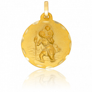 Médaille Saint Joseph Or Jaune 18K