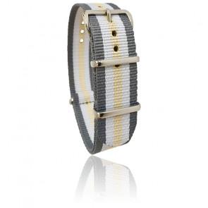Bracelet gris/blanc/sable