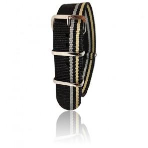 Bracelet noir/gris/sable