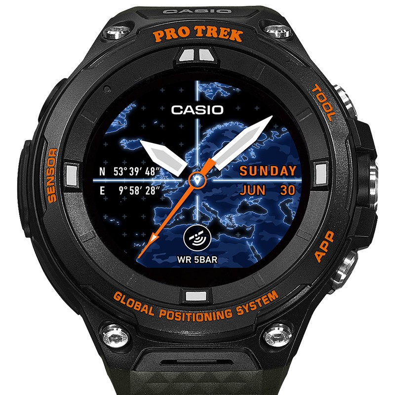 Montre Smart Outdoor Watch WSD F20A GNBAE Casio Pro Trek  XnN30