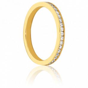 Alliance Sanaga Or Jaune et diamants 0.61 ct