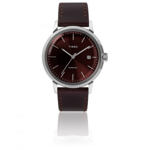 Montre Marlin Auto 40mm Burgundy Dial TW2T23200
