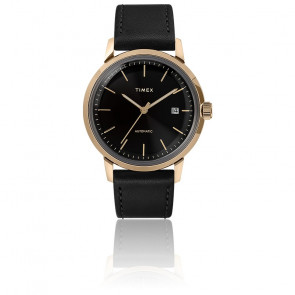 Montre Marlin Auto 40mm Gold Black Dial TW2T22800