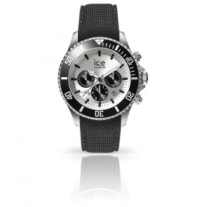 Montre ICE Steel Black Silver 016302