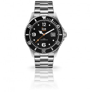 Montre ICE Steel Black Silver 016031