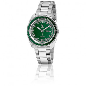 Marinier 39mm Chrome Green Dial 671370