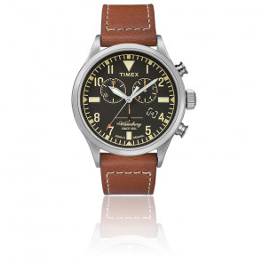 Montre Traditional Chrono 42mm Brown Leather TW2P84300