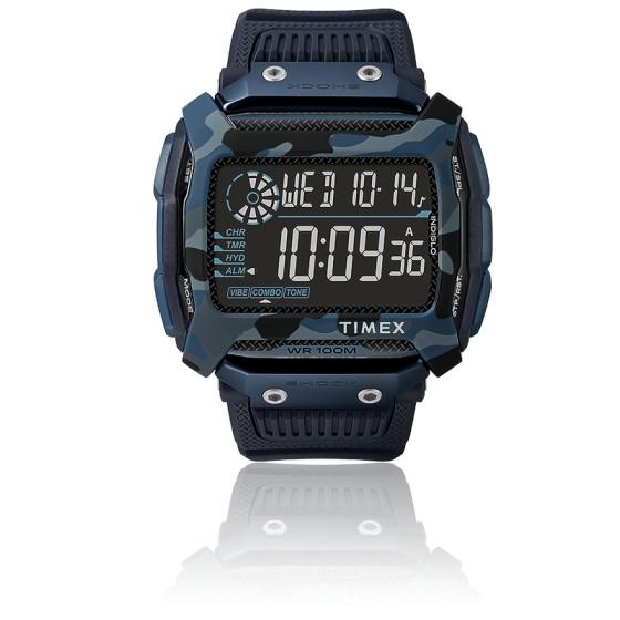 Montre Command Shock Digital Navy Blue 54mm TW5M20500