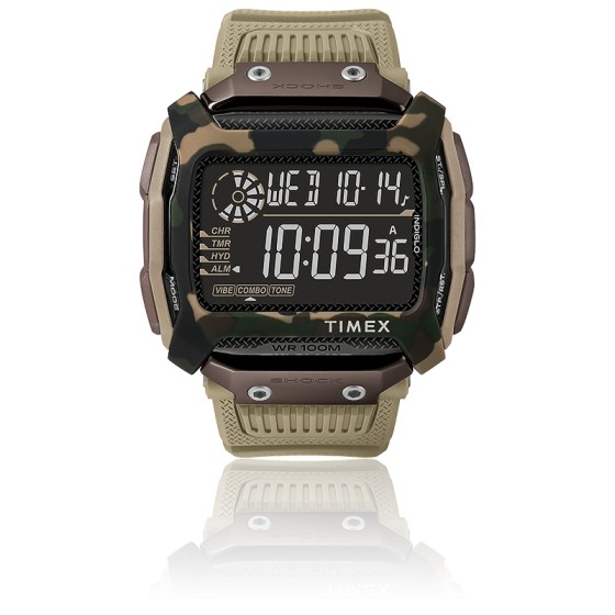 Montre Command Shock Digital Sand 54mm TW5M20600