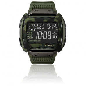 Montre Command Shock Digital Olive Green 54mm TW5M20400