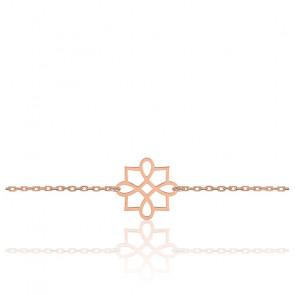 Bracelet Harmonie Or Rose 9K