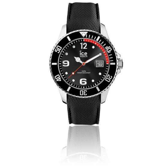 montre ice steel black 015773 ice watch ocarat. Black Bedroom Furniture Sets. Home Design Ideas