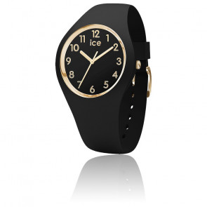 Montre ICE Glam Black Gold Numbers Small 015338