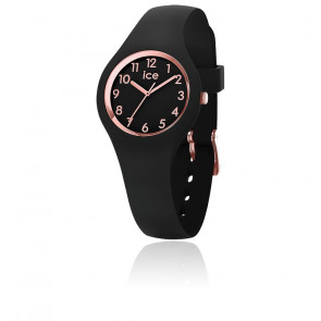 Montre ICE Glam Black Rose Numbers Extra Small 015344