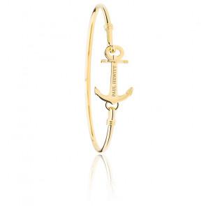 Bracelet Anchor Cuff IP Doré