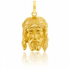 Pendentif Portrait du Christ Or Jaune 18K