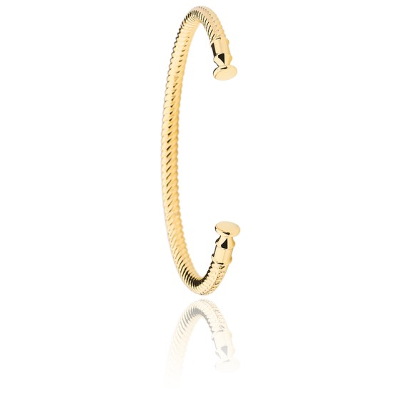 Bracelet ROCUFF IP Doré