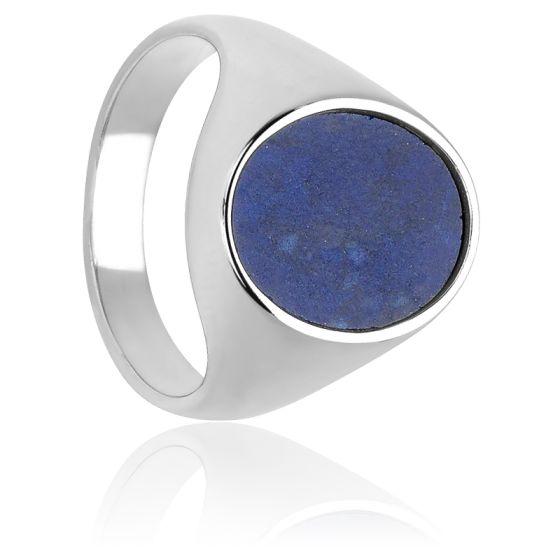 Bague Royale Lapis-Lazuli & Argent