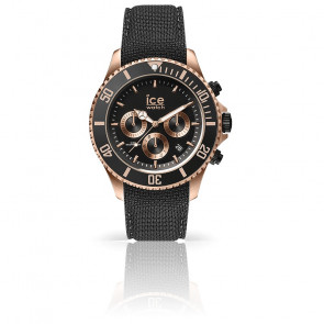 Montre ICE Steel Black Rose Gold  016305