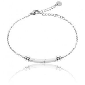 Bracelet Starboard Acier Marble