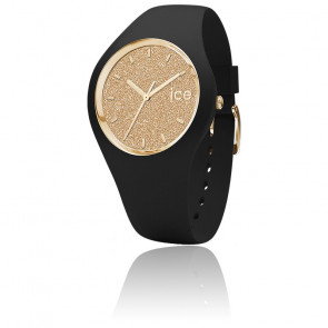 Montre ICE Glitter Black Gold Small 001348