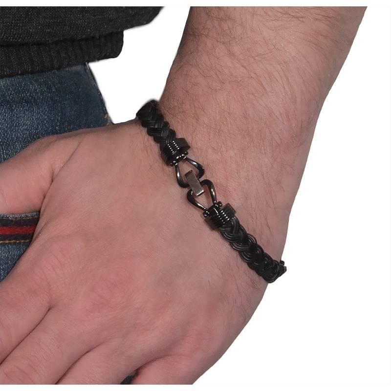 bracelet poils el phant tress or rose albanu ocarat. Black Bedroom Furniture Sets. Home Design Ideas