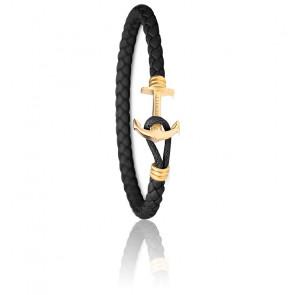 Bracelet Ancre PHREP Lite IP Or & Noir