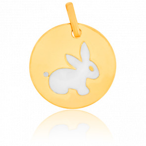 Médaille Lapin Or Jaune 18 K