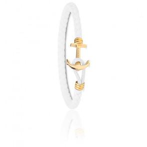 Bracelet Ancre PHREP Lite IP Or & Blanc