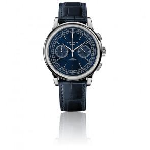 Montre Heritage Chronograph 39 Acier Inoxydable Cadran Bleu